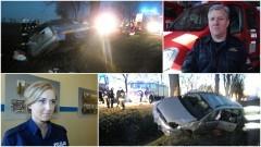 Dzieci ranne w wypadku na DK 22. Weekendowy raport malborskich służb mundurowych - 27.03.2017
