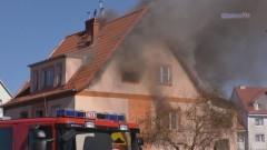 Ogień pozbawił ich dachu nad głową. Potrzebna pomoc dla poszkodowanych w pożarze - 24.03.2017