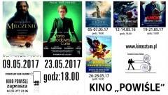 """Sztum. Repertuar Kina """"Powiśle"""" oraz Dyskusyjnego Klubu Filmowego. - 05-28.05.2017"""
