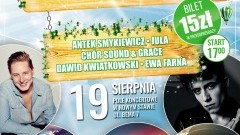 """""""Żuławskie Lato"""" – kolejny muzyczny festiwal w Nowym Stawie. Ewa Farna, Jula, Smykiewicz, Sound & Grace i Dawid Kwiatkowski – 19.08.2017"""