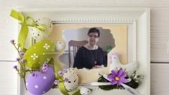 Ewa Dąbska, Wójt Gminy Stegna składa mieszkańcom wielkanocne życzenia (wideo)