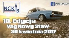 Nowostawskie Centrum Kultury i Biblioteki zaprasza na zlot samochodów grupy Vag. - 30.04.2017