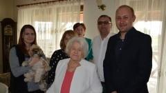 Nowy Dwór Gdański. 92. urodziny Pani Zofii Fidut - 24.04.2017
