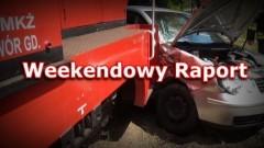 Pożar samochodu osobowego w Stegnie. Ostatni tydzień w PSP Nowym Dworze Gdańskim - 25.04.2017