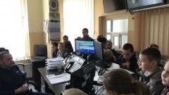 Sztum. Uczniowie SP. w Bruku w odwiedzinach sztumskiej komendy - 24.04.2017