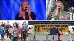 Koncert Olgi Szomańskiej. Dzień Walki z Dyskryminacją Osób Niepełnosprawnych w Malborku - los innych nie jest jej obojętny - 27.04.2017