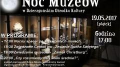 Dzierzgoń zaprasza na Noc Muzeów. W programie m.in. historyczne zdjęcia miasta i nocny spacer po klasztorze i cerkwi – 11.05.2017