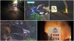 Na procentach zahaczył o drugie auto i wylądował na drzewie. Strażacy znowu usuwali plamę oleju w Sztumie! Weekendowy raport sztumskich służb mundurowych – 15.05.2017