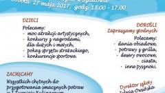 Uczniowie ZS w Sztutowie zapraszają 27 maja na Dzień Dziecka i IX Festyn Rodzinny