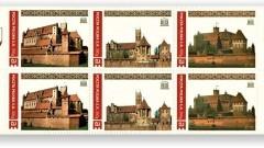 Malbork.Pamiątkowe znaczki pocztowe z okazji 20 lecia malborskiego zamku na liście zabytków Unesco - 07.06.2017