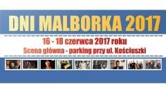 Dni Malborka 2017: Miejska zabawa - koncerty: Imbridus, Reggaeside, Goose Bumps, Grzegorz Hyży, Tomasz Szwed - 16-18.06.2017