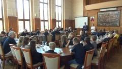 Malbork: Rolkarze z Monheim nad Renem z wizytą u burmistrza - 05.06.2017