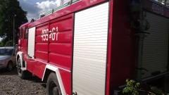 Nieuwaga turystki w Stegnie - Ford Mondeo uderzył w mikrobus - 03.06.2017 r