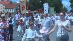 Sztum: Tłumy uczestników procesji Bożego Ciała. Wielowiekowa tradycja i wyznanie wiary – 15.06.2017