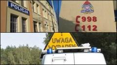 Uwaga! Wypadek z udziałem motocyklisty - 18.06.2017