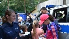 Stegna. Policjanci promowali bezpieczne wakacje nad wodą 17.06.2017