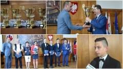 Nagrody dla laureatów i finalistów konkursów oraz najlepszych sportowców z Malborka - 21.06.2017