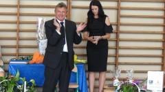 Łzy wzruszenia i podziękowania dla wybitnego pedagoga Andrzeja Michalczuka z Drewnicy 23.06.2017