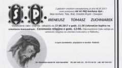 Zmarł Ireneusz Zuchniarek. Żył 41 lat.