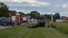 """5 osób poszkodowanych. Wypadek na krajowej """"siódemce"""" w miejscowości Solnica - 03.07.2017"""