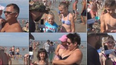 Projekt Plaża. Stegna. Pytamy z kamerą jak wam się podoba. - 16.08.2017