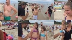 Projekt Plaża. Jantar. Pytamy z kamerą co was cieszy i co was denerwuje - 16.08.2017