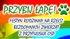 NDG: Przybij łapę! Festyn na rzecz bezdomnych zwierząt z perzytuliska OSP w Nowym Dworze Gdańskim - 17.08.2017