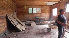 Gmina Sztum: Widać już efekty przebudowy sali gimnastycznej. Będzie piękna świetlica wiejska! - 22.08.2017