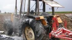 Pożar ciągnika podczas prac. Rolnik poniósł ogromne straty. Weekendowy raport malborskich służb mundurowych - 28.08.2017