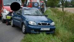 Rybina: 25 letnia kobieta straciła panowanie nad samochodem. - 04.09.2017