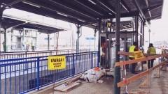 Trzy dodatkowe windy ułatwią dostęp na perony. Postęp prac budowlanych na dworcu kolejowym w Malborku - 29.11.2017