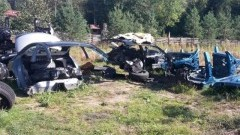 Kradli luksusowe auta w Wielkiej Brytanii, a w polskiej dziupli rozmontowywali na części - 15.09.2017
