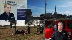 Trafił do szpitala z oparzeniami I i II stopnia. Wypadek na DK 55.Kierowca BMW zepchnął motocyklistę do rowu. Weekendowy raport malborskich służb mundurowych – 18.09.2017
