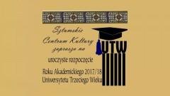Sztum : Zapraszamy na Inaugurację Roku Akademickiego 2017/2018 Uniwersytetu Trzeciego Wieku. - 05.10.2017