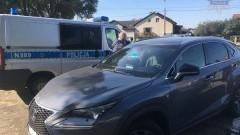 Skradziony niemiecki Lexus warty 240 tys zł zatrzymany w Lęborku! - 03.10.2017
