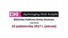 Biblioteka Publiczna Gminy Sztutowo zaprasza na spotkanie Romualdem Koperskim - 10.10.2017