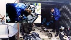 Kradli i demontowali auta. W końcu wpadli. Malborscy kryminalni zlikwidowali dziuplę samochodową - zabezpieczono również ponad 160 kg krajanki tytoniowej. Weekendowy raport służb mundurowych - 09.10.2017