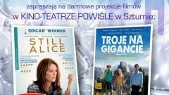 Sztum: Zaproszenie na darmowe projekcje filmów o tematyce społecznej – 12.10.2017