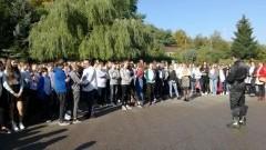 Próbne ewakuacje w Szkole Podstawowej oraz w Tęczowym Przedszkolu w Dzierzgoniu - 16-18.10.2017