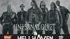 Zapraszamy na koncerty Internal Quiet i HellHaven w malborskiej Alternatywie! - 04.11.2017