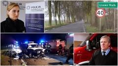 Brutalny atak na młodą kobietę w Lisewie Malborskim. Wypadek w Gnojewie. Auto wjechało w koparkę. Weekendowy raport malborskich służb mundurowych – 23.10.2017