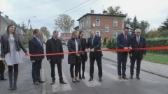 Gmina Miłoradz: Wyremontowana droga w Pogorzałej Wsi oddana do użytku – 23.10.2017