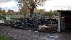 Rakowiska: Potężny pożar gasiło kilka jednostek z regionu.Zobacz Wideo! - 30.10.2017