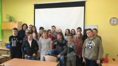 Spotkanie z uczniami Szkoły Podstawowej Nr 2 w Sztumie poświęcone odpowiedzialności nieletnich - 30.10.2017