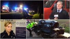 W Królewie BMW uderzyło w drzewo. Weekendowy raport malborskich służb mundurowych – 06.11.2017