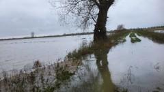 Pola na żuławach zmieniły się w jeziora. Rolnicy widzą problem w budowie trasy S7 – 07.11.2017