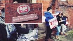 """Bogumiła Skóra: """"250 tys. zł zabrane przez złodzieja na rzecz złodzieja..."""". Kolejna manifestacja """"Równości wobec prawa dla wszystkich obywateli RP"""" - 23.11.2017"""