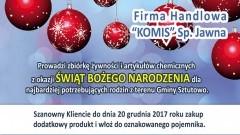Katy Rybackie: Szlachetna paczka. Kup produkty dla potrzebujących. - 27.11.2017