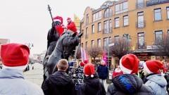 Król stał się św.Mikołajem... Doroczny happening malborskiego oddziału PTTK - 02.12.2017