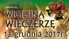 Czernin: Zaproszenie na wigilijną wieczerzę w Zajeździe Jonatan – 13.12.2017